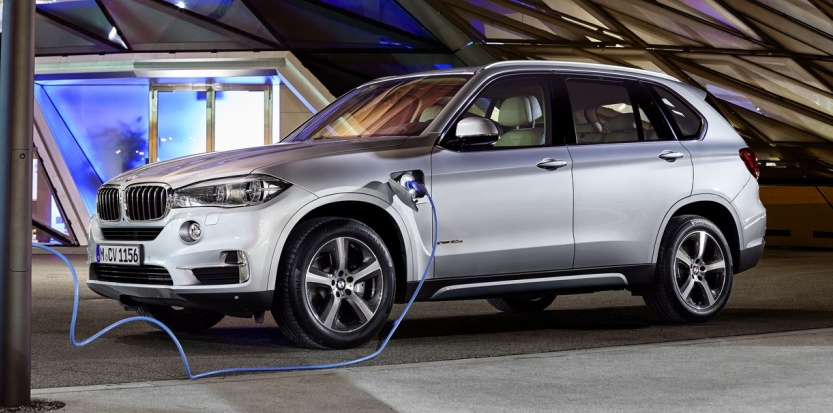 BMW X5 xDrive 40e: Rechargeable Hybrid 4x4 Arrives