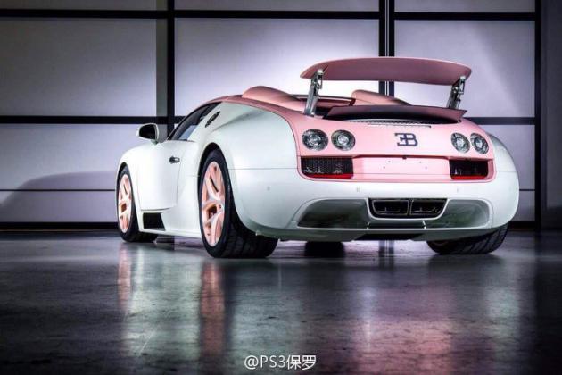 Bugatti Veyron Crystal Edition