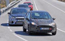 2017 Ford Fiesta RS Spy Shots