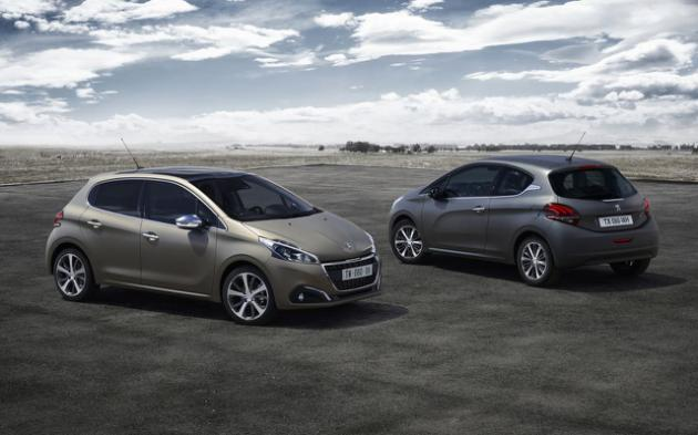 New Peugeot 208 With Textured Color
