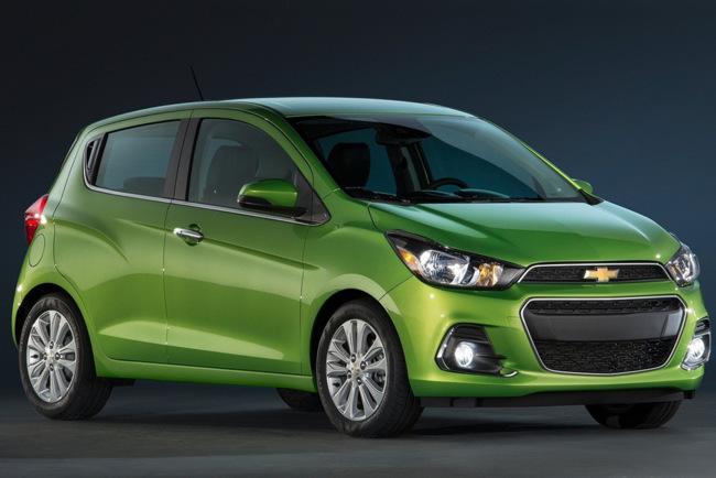 2016 Chevrolet Spark, Opel Karl to American