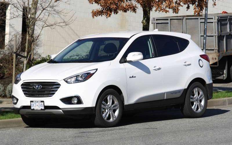 2016 Hyundai Tucson FCEV Test Drive
