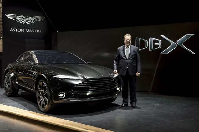 Aston Martin Launch a Crossover in 2019
