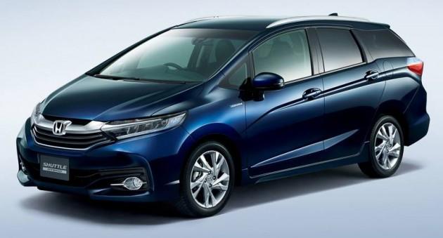 New Honda Jazz Shuttle MPV Leaked