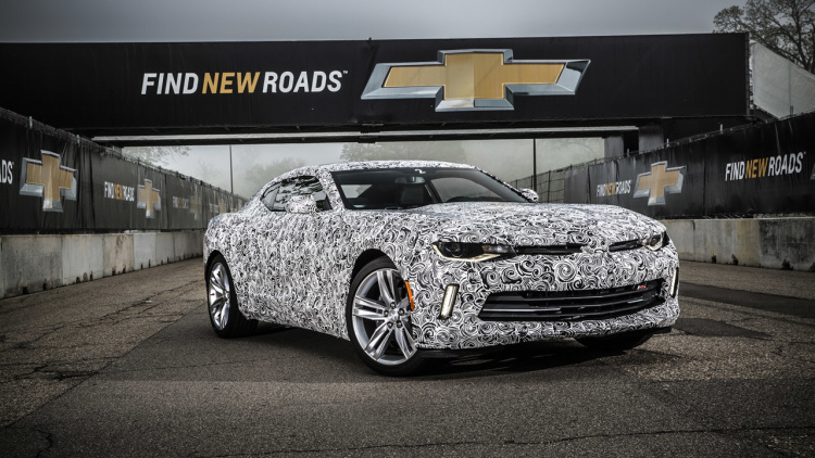 2016 Chevrolet Camaro Prototype First Drive Review
