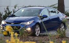 2016 Chevrolet Cruze Spy Photos, Redesign