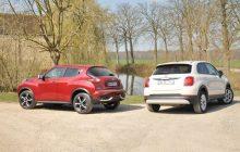 Nissan Juke vs FIAT 500x Comparison Review