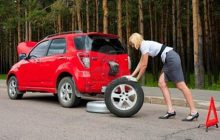 how to change a tire step by step less than ten minutes