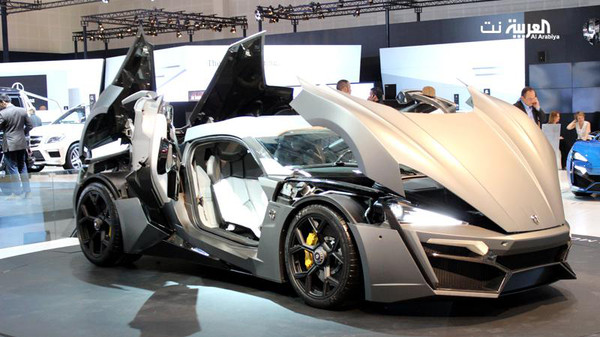 Lykan Hypersport Specs, First Middle Eastern supercar
