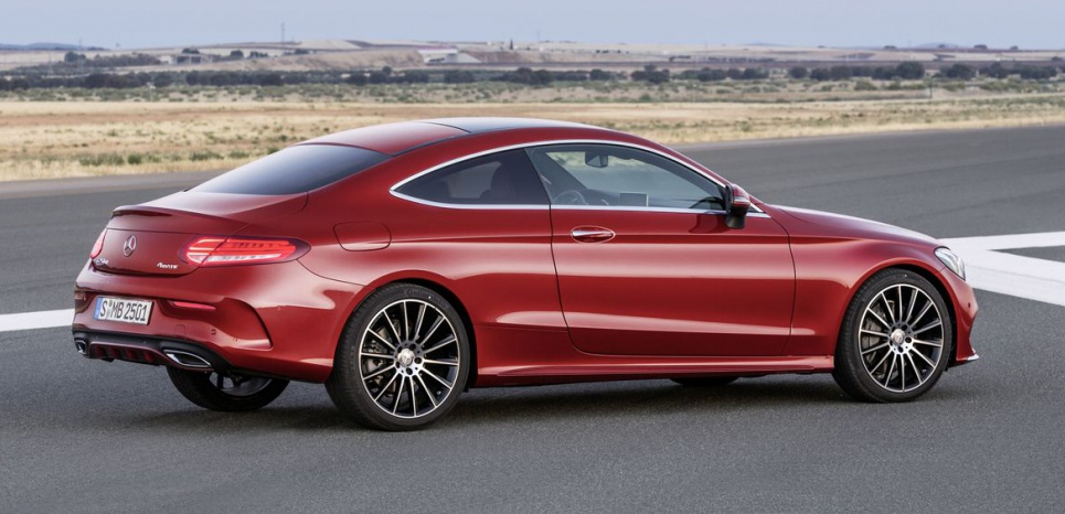 Mercedes-Benz C-Class: Coupe Completes the Range
