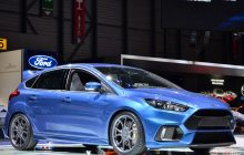 2016 Ford Focus RS, 0-100 km / h in 4.7 seconds