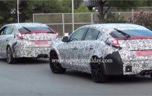 2017 Civic Type R Sedan Spy Shots