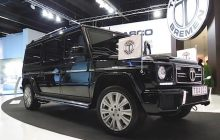 Mercedes G, The heaviest car of the Show at IAA 2015
