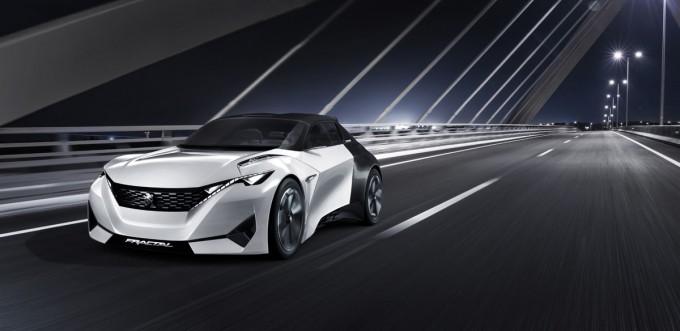 Peugeot Fractal: An Electric Concept At Frankfurt motor show 2015