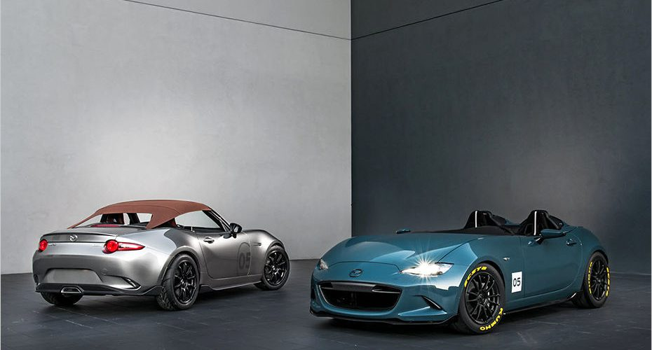 Mazda MX-5 Spyder and Speedster, Two cool concept cars at SEMA