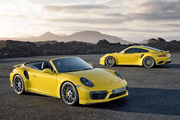 Porsche 911 Turbo and Turbo S