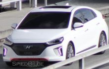 2016 Hyundai Ioniq Spied without camouflage