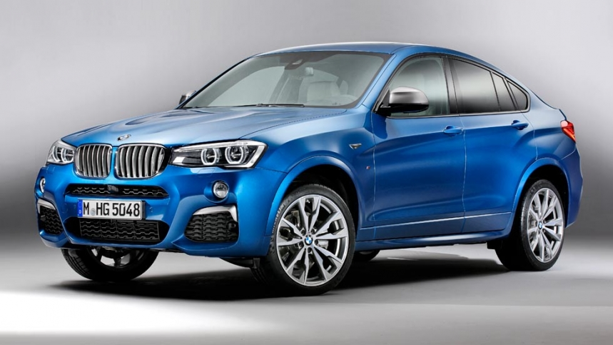 BMW X4 M40i prices from 73,500 euros