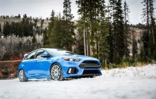 2016 Ford Focus RS also brutal in the snow