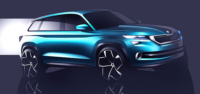 Skoda Visions: The great Czech SUV is here