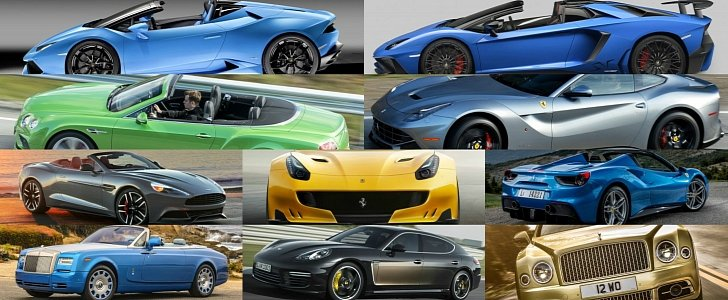 List Of The Most Expensive Cars in 2016 in US