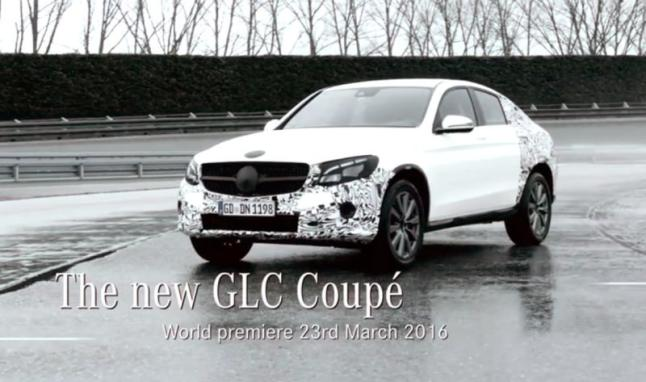 The latest development of the Mercedes-Benz GLC Coupe