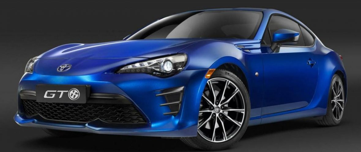 toyota gt86 facelift Revealed