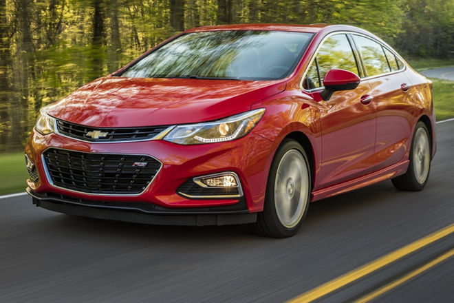 2016 Chevrolet Cruze First Drive Review