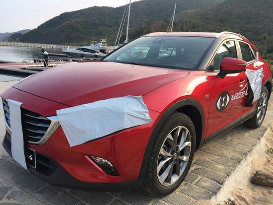 2017 Mazda CX-4 Crossover Leaked