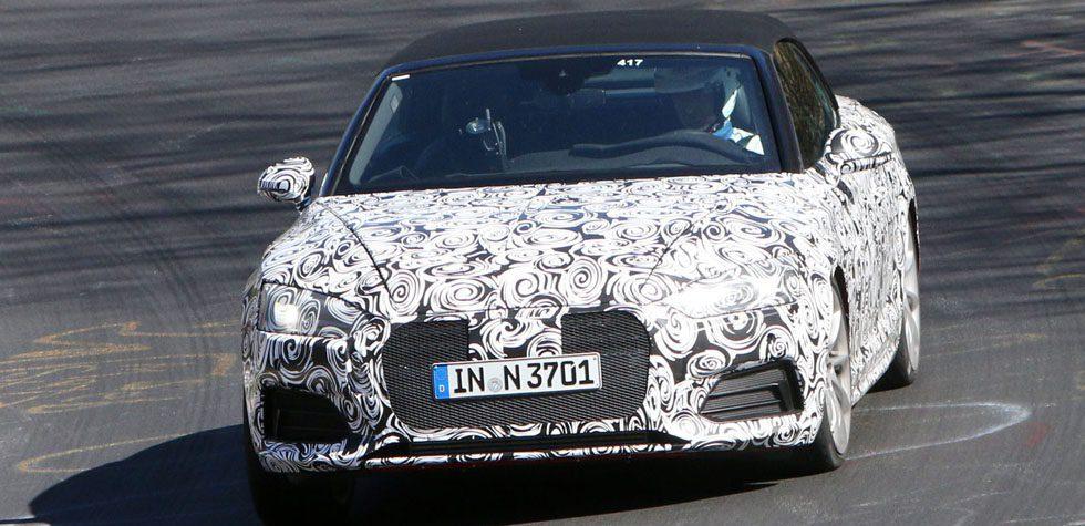 Audi S5 Cabrio Spy Shots & Specs