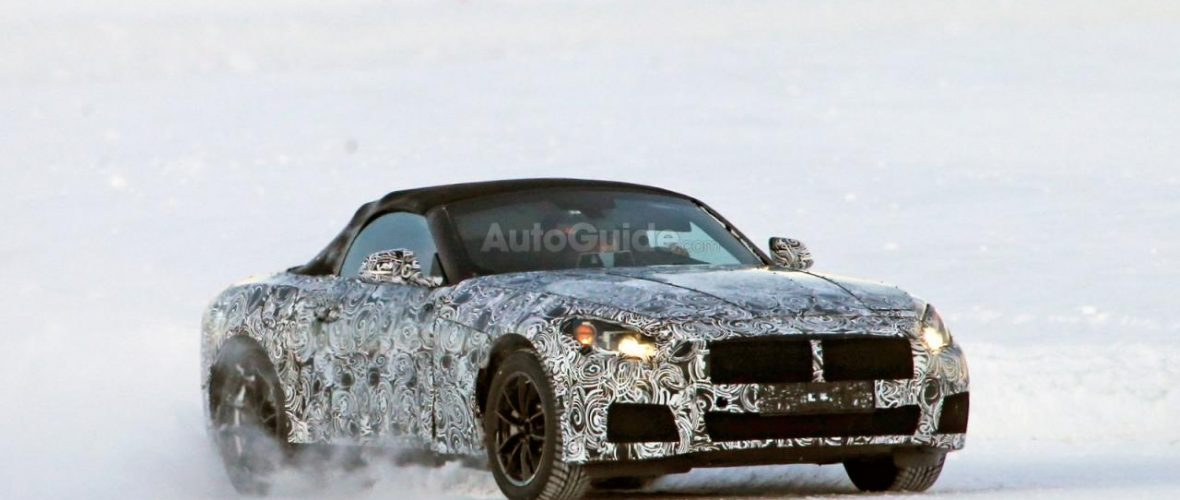BMW Z5 Spied Testing on Ice