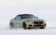 BMW Z5 Spied Testing on Ice
