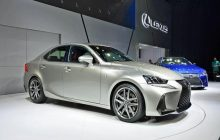 Lexus IS 2017, renew the Japanese sedan
