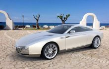 This should be the Aston Martin DB9 according to Russian