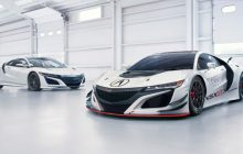 Acura NSX GT3 Race Car With Carbon fiber