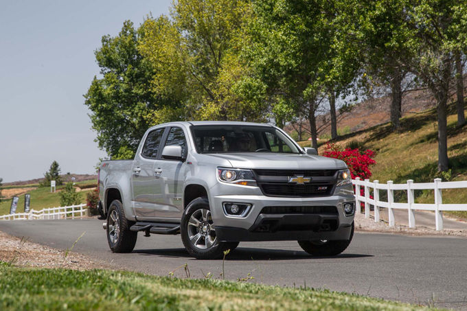 2017 Chevrolet Colorado Updates : New Transmission Eight-Speed, New Engine V-6