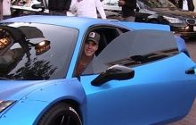 Ferrari 458 Italy That Custom Made by Justin Bieber goes to auction