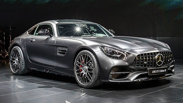 Mercedes-AMG GT C, the coupe from 557 hp