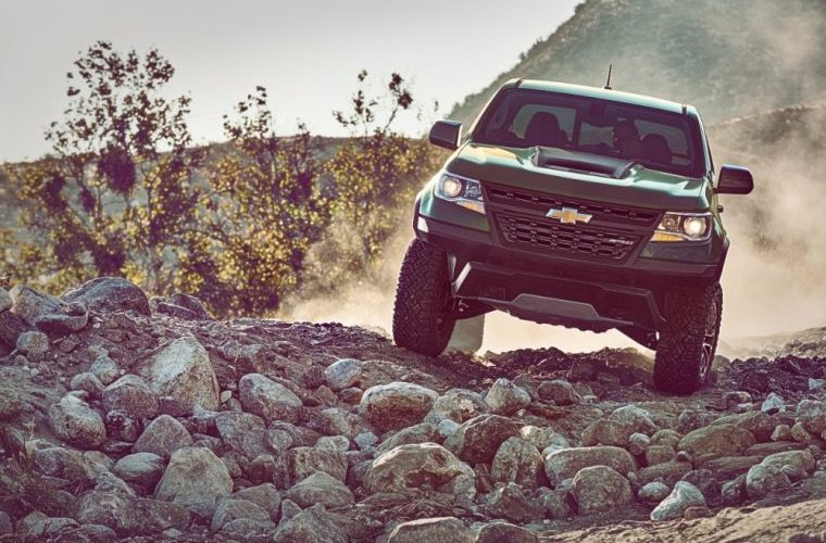2017 Chevrolet Colorado zr2 Price