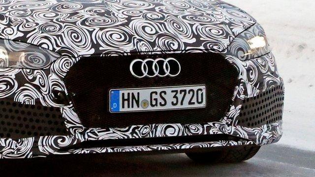 Spyshot: Audi RS5