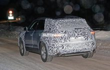 The future Volkswagen Touareg is discovered in photos
