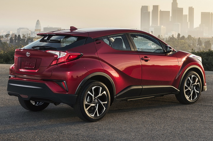 Overview of the Toyota C-HR 2018