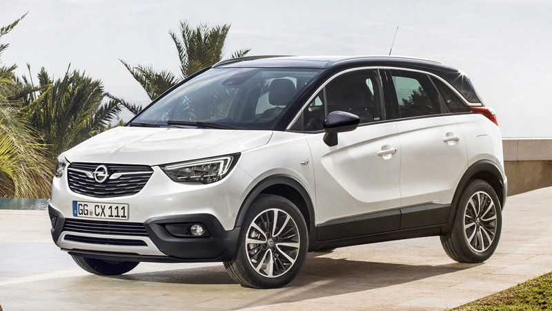 2017 Opel Crossland X Specs and Details