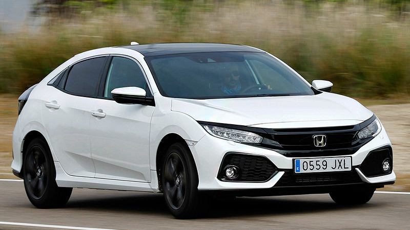 Honda Civic 5p 2017 Specs and Details