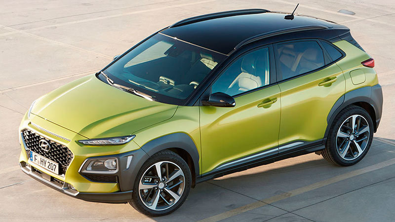 2018 Hyundai Kona Specs and Details