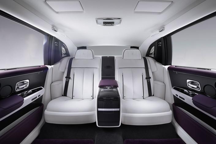 New Rolls Royce Phantom: royal