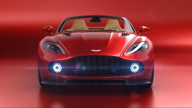 2018 Aston Martin Vanquish Zagato Volante Will be presented live on Pebble Beach