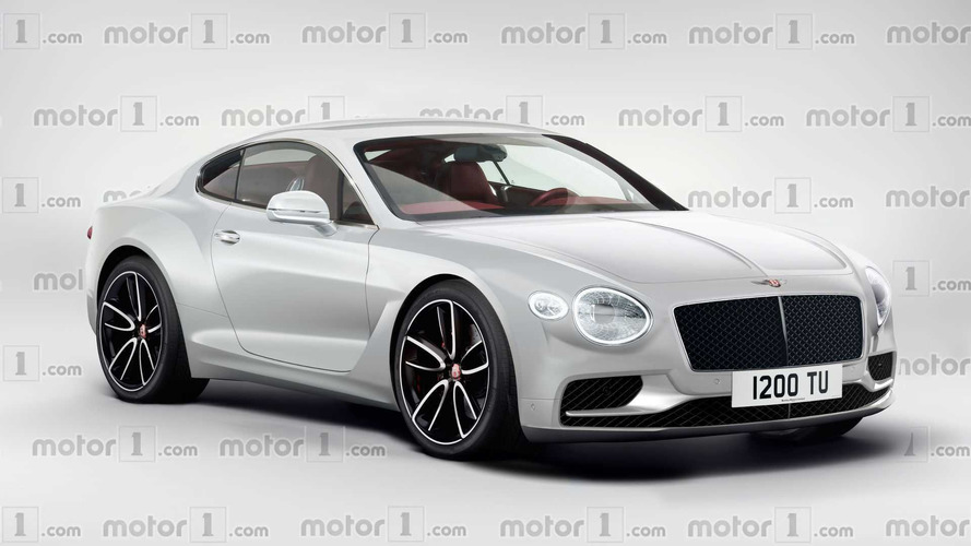 2018 Bentley Continental GT spied testing at the Nürburgring