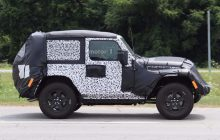 2018 Jeep Wrangler Two-Door Spied Testing