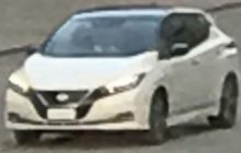 2018 Nissan Leaf Spotted before the debut